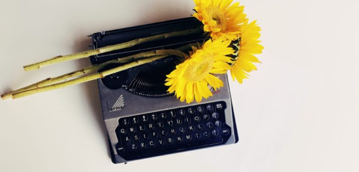 Foto capa da postagem sobre escrever para fazer florescer no site Gabriela Araujo.